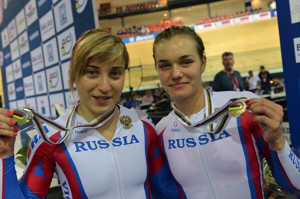 Анастасия Войнова и Дарья Шмелева