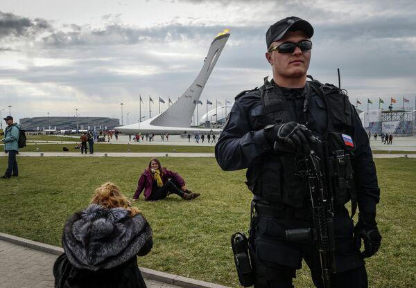 Обеспечение безопасности Олимпийского парка