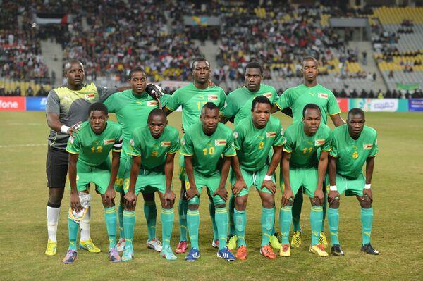 Футболисты сборной Зимбабве