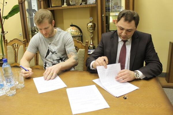 Александр Матерухин и Максим Субботкин (слева направо)