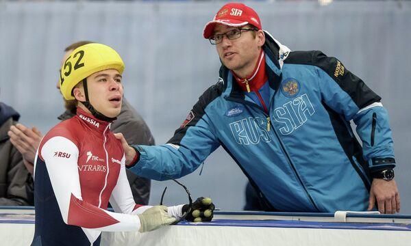 Семен Елистратов (слева) и Себастьян Крос