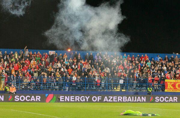Болельщики сборной Черногории