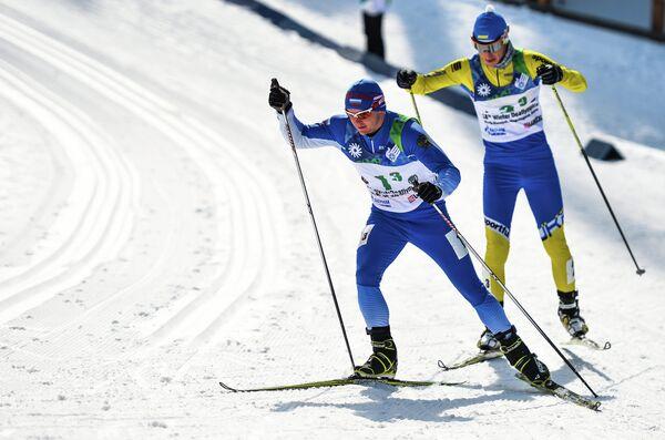Слева направо: Алексей Грошев (Россия), Владимир Пышняк (Украина)