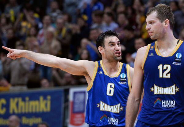 Марко Попович (слева) и Сергей Моня