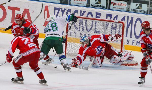 Финал чемпионата России по хоккею: Салават Юлаев (Уфа) – Локомотив (Ярославль) 4:1