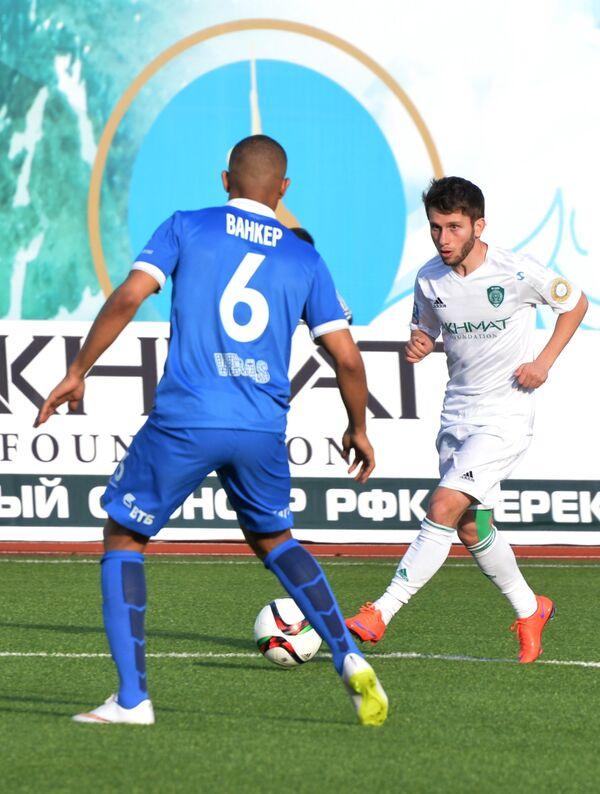 Полузащитник Терека Халид Кадыров