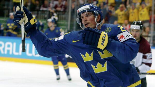 Форвард сборной Швеции Луи Эрикссон