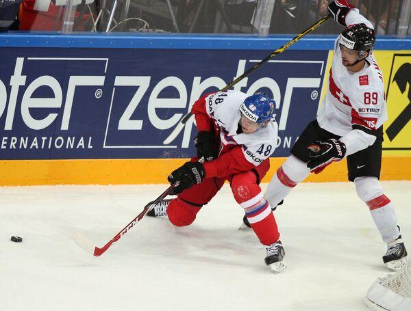 Хоккей. Чемпионат мира - 2015. Матч Чехия - Швейцария