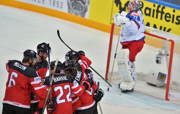 Игроки сборной Канады