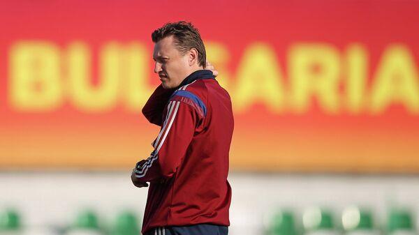 Главный тренер юношеской сборной России по футболу Михаил Галактионов