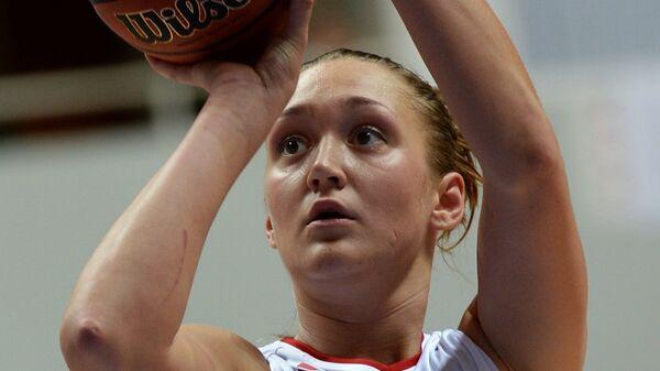Баскетболистка сборной России Анастасия Логунова