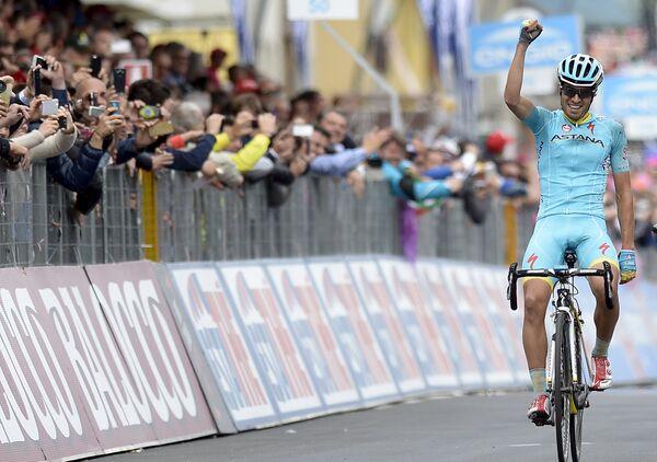Испанский велогонщик Астаны Микель Ланда