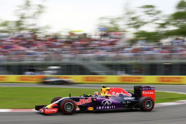 Пилот команды Формулы-1 Ред Булл Даниил Квят
