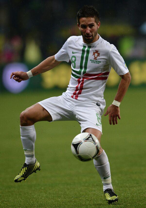 Полузащитник сборной Португалии Жуан Моутинью
