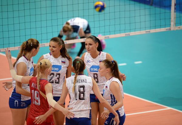 Волейболистки сборной России
