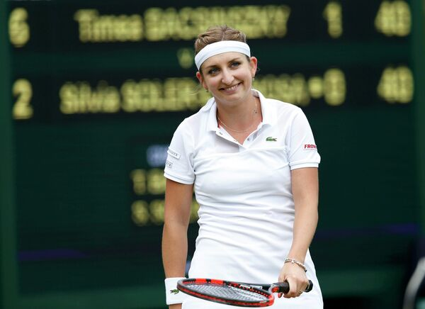 Швейцарская теннисистка Тимя Бащински