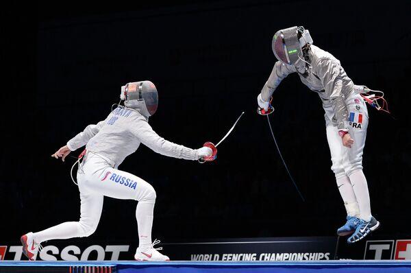 Слева направо: Софья Великая (Россия) и Сесилия Бердер (Франция)