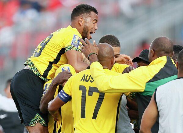 Футболисты сборной Ямайки