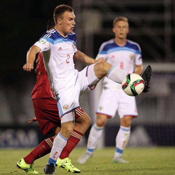 Защитник сборной России Сергей Макаров