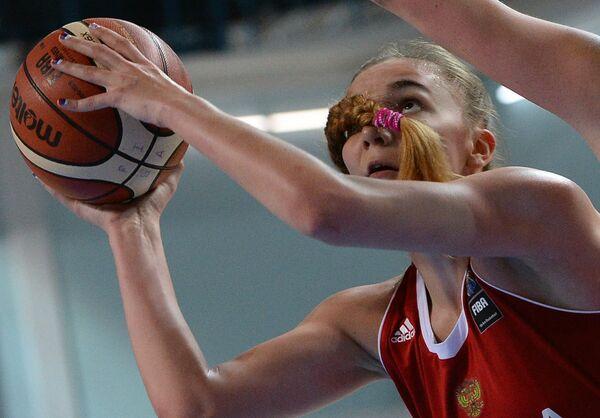 Центровая сборной России Мария Вадеева