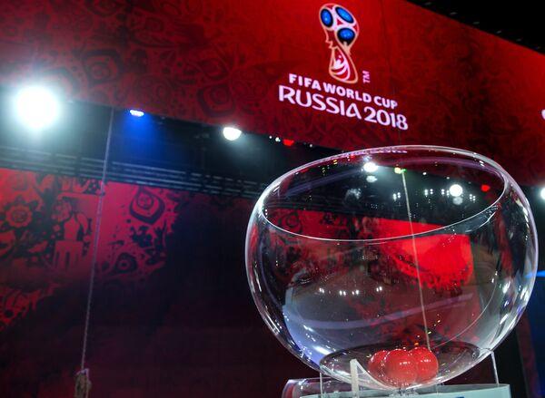 Подготовка к предварительной жеребьевке ЧМ-2018 по футболу в Санкт-Петербурге