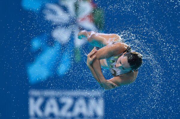 Чемпионат мира FINA 2015. Синхронное плавание. Комбинация. Предварительный раунд