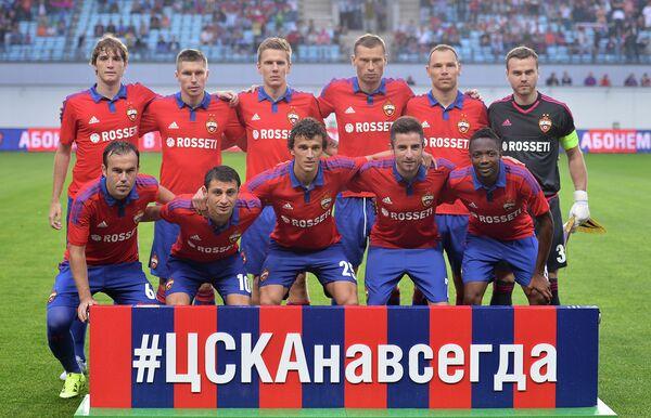 Футболисты ЦСКА