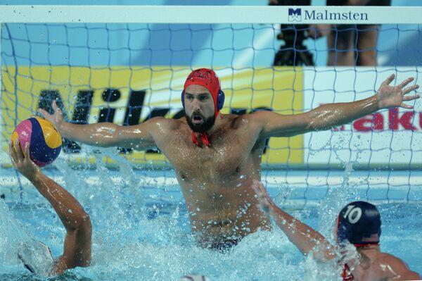 Вратарь сборной США по водному поло Мэррилл Мозес