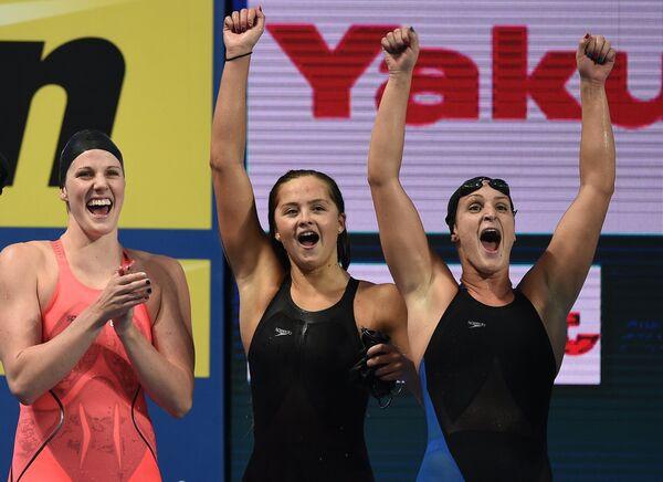 Пловчихи сборной США