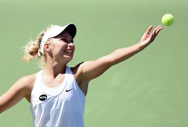 Теннисистка Дарья Гаврилова