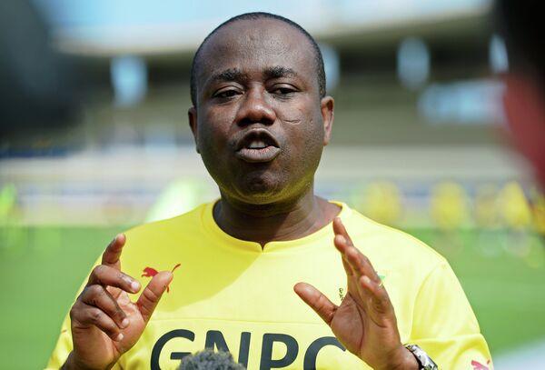 Президент Футбольной ассоциации Ганы (GFA) Квеси Ньянтакьи