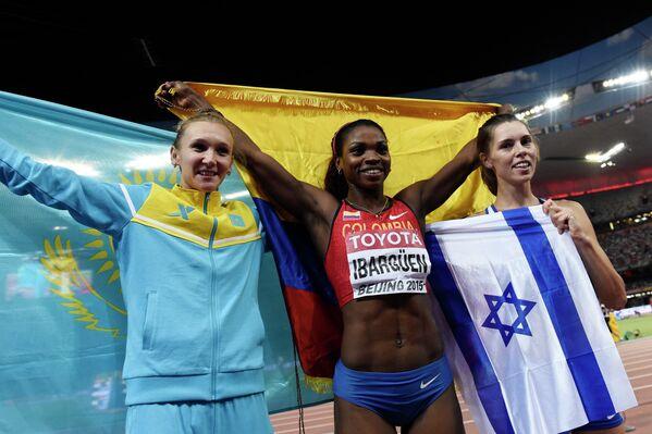 Ольга Рыпакова, Катрин Ибаргуэн и Анна Князева-Миненко (слева направо)