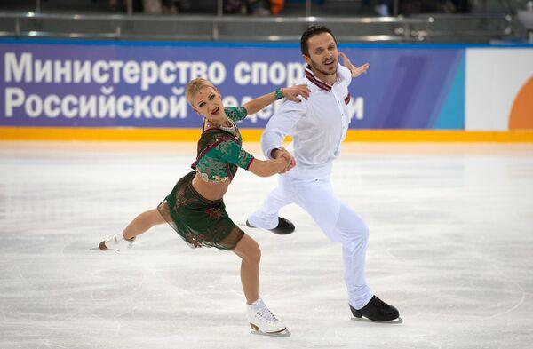 Олимпийские чемпионы Татьяна Волосожар и Максим Траньков
