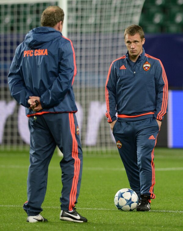 Виктор Ганчаренко и Леонид Слуцкий (слева)