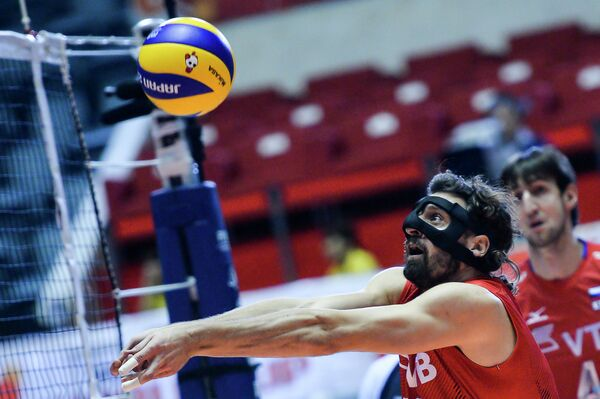 Волейболист сборной России Александр Бутько