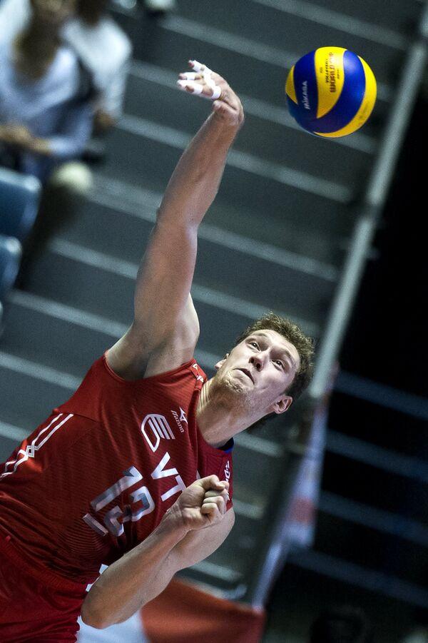 Волейболист сборной России Дмитрий Мусэрский