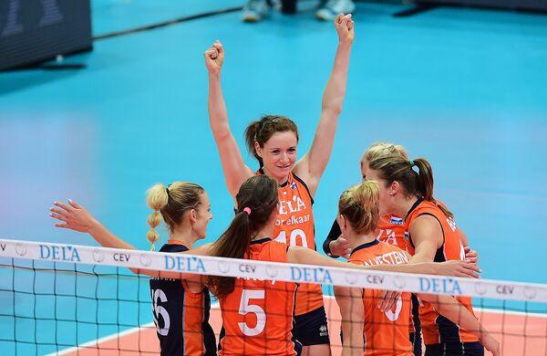 Волейболистки сборной Нидерландов