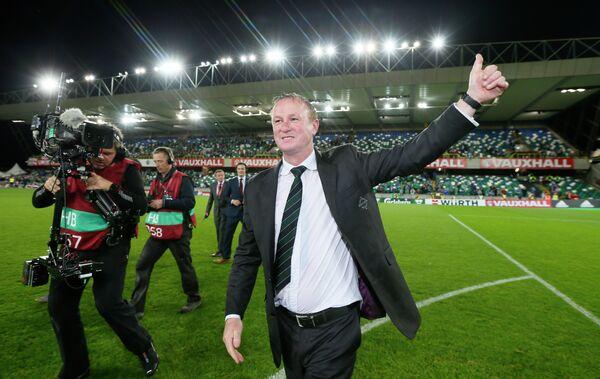 Главный тренер сборной Северной Ирландии по футболу Майкл О'Нил