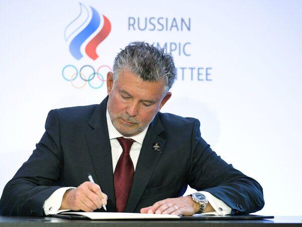 Президент Всемирной ассоциации олимпийцев (WOA) Жоэль Бузу