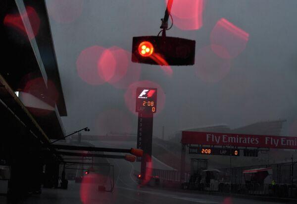 Непогода на Гран-при США
