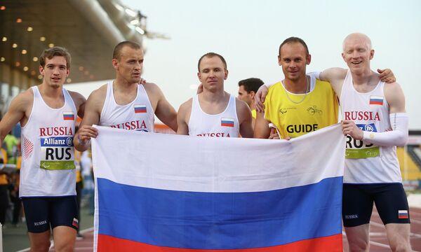 Российская эстафетная мужская команда