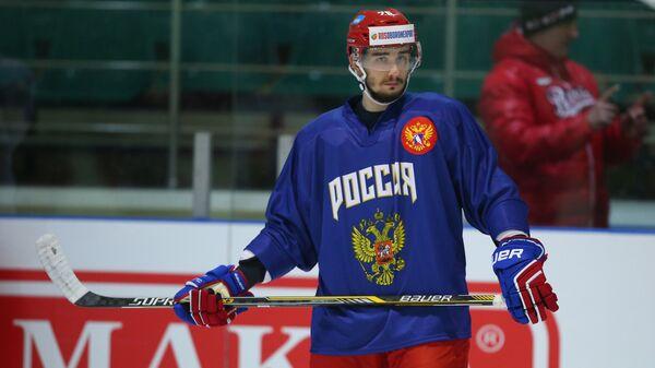 Защитник сборной России Вячеслав Войнов