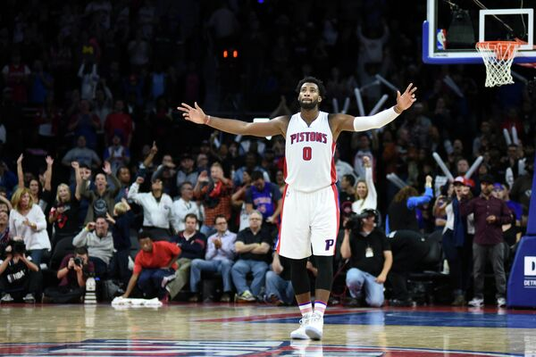 Центровой клуба НБА Детройт Пистонс Андре Драммонд