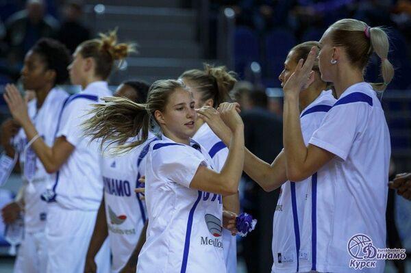 Баскетболистки курского Динамо