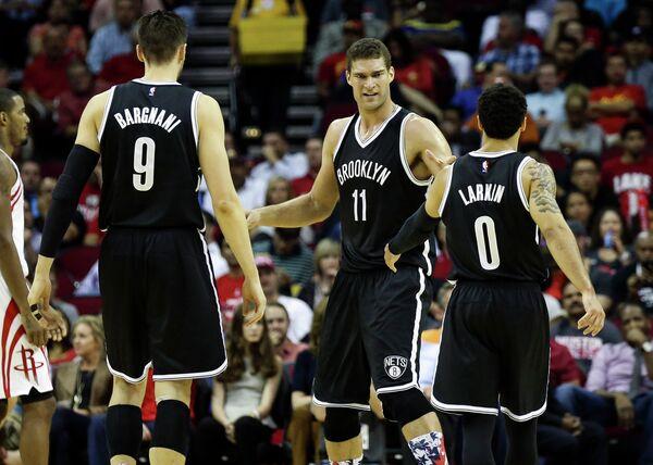 Баскетболисты Бруклин Нетс