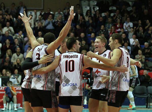 Волейболисты Нижнего Новгорода