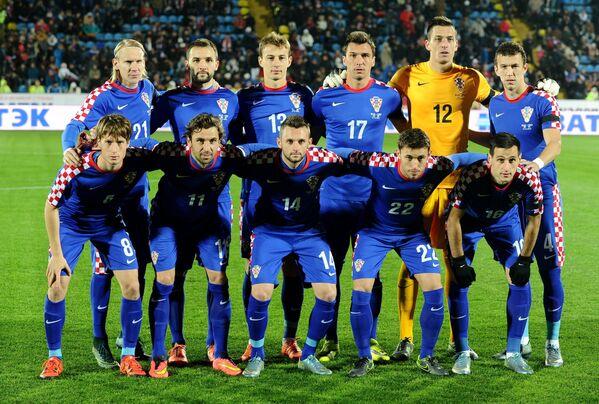 Игроки сборной Хорватии
