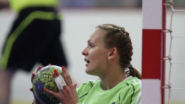 Игрок российской сборной Анна Седойкина