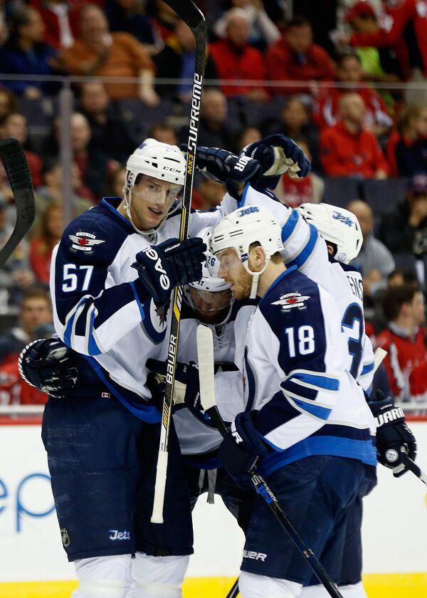Хоккеисты клуба НХЛ Виннипег Джетс