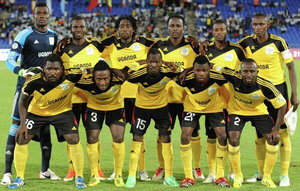 Футболисты сборной Уганды